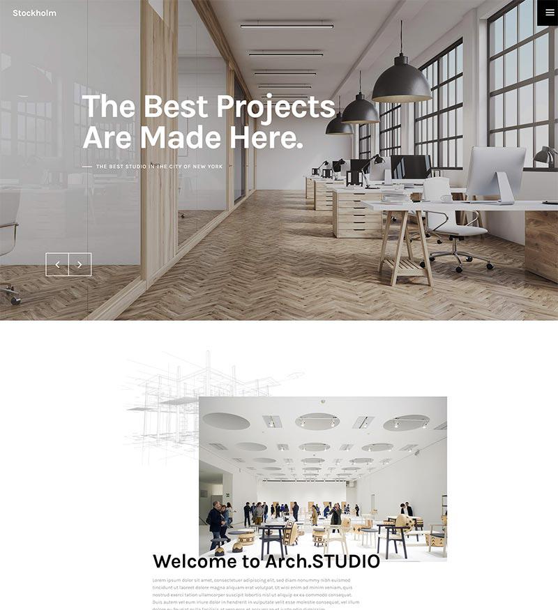 szablon wordpress dla strony www