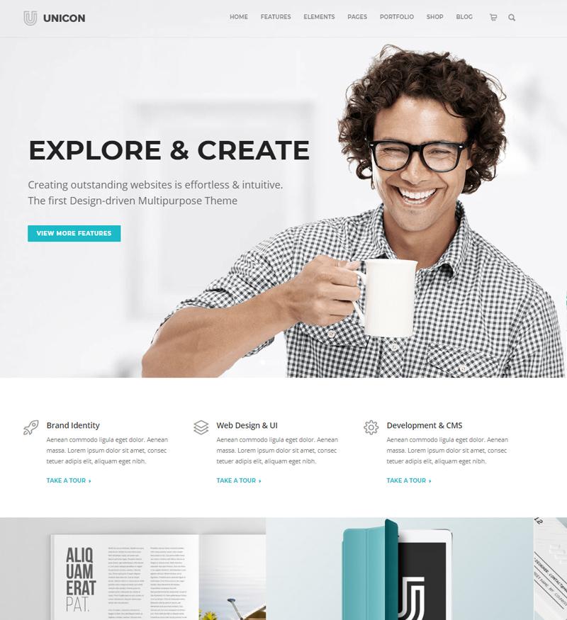szablon wordpress strona www